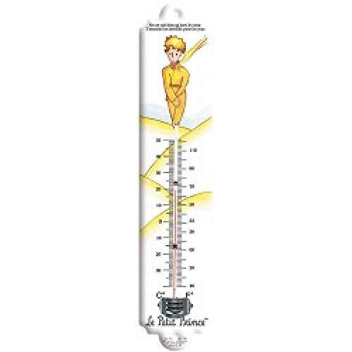 Fransosik Vintage zeefdruk thermometer LE PETIT PRINCE DE WUSTE