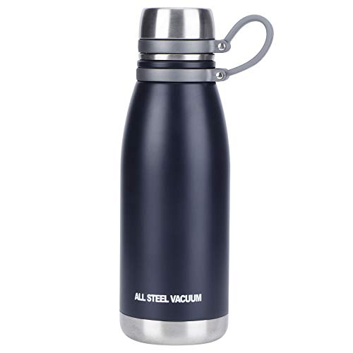 Taza de Aislamiento, Acero Inoxidable Taza de Aislamiento al vacío Aislamiento Deportivo Botella de Agua portátil para Deportes al Aire Libre para montañismo