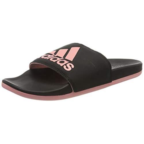 adidas Adilette Comfort, Scarpe da Ginnastica Womens, Core Black/Glory Pink/Core Black, 37 EU