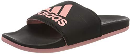 adidas Damen Adilette Comfort Sandal, Core Black/Glory Pink/Core Black, 38 EU