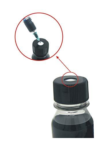 Kit de Recarga para Cartuchos de Tinta HP 302, 302 XL Negro, Incluye Clip y Accesorios + 100 ML Tinta