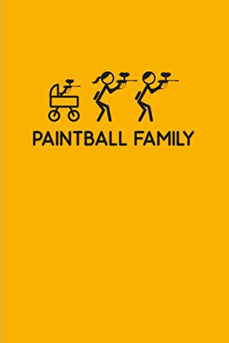 Paintball Family: Funny Paintballing 2020 Planner | Weekly & Monthly Pocket Calendar | 6x9 Softcover Organizer | For Games & Camouflage Fans