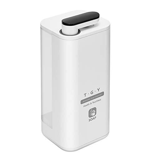 T.G.Y Automatischer Seifenspender 500 ml Wiederaufladbarer Sensorspender No-Touch Berührungslos Sprühgeräte für Küchen, Büro,Schule, Krankenhaus, Hotel, Bahnhof usw.