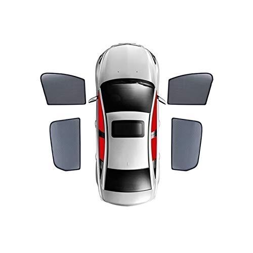 Para Mazda 3 Hatchback 2019 – presente, cortina magnética especial para ventana de cortina parasol de malla totalmente cubierta (color : ventana de 4 puertas)