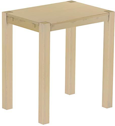 Brasilmöbel Hochtisch Rio Kanto 100x73 cm Birke Bartisch Holz Tisch Pinie Massivholz Stehtisch Bistrotisch Tresen Bar Thekentisch Echtholz Größe und Farbe wählbar