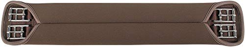 Harry\'s Horse Dressuursingel, neopreen Glad Bruin, Farbe:braun, Größe:65cm