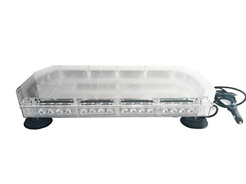 LED belka ostrzegawcza Roadlight lampa ostrzegawcza belka dachowa 59 cm 12 V 24 V 56 W z podstawą magnetyczną