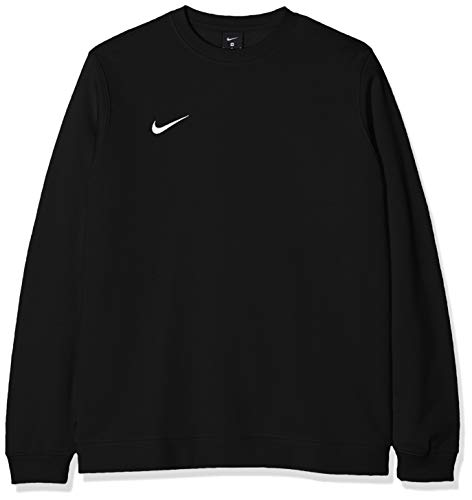 NIKE M Crew Fleece Team Club 19 Sudadera, Negro (Black/White), 2XL para Hombre