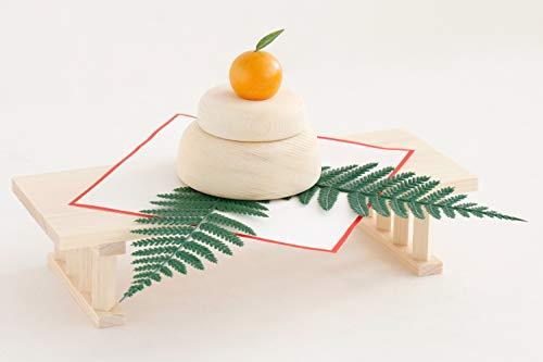 国産 鏡餅 木製 ■ 正月飾りセット 八足台 ■ 正月飾り 年神様