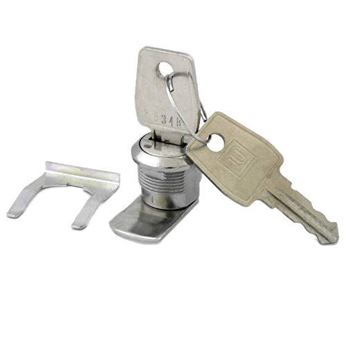 JU Briefkastenschloss mit 2 Schlüsseln JU Nummer 21-109