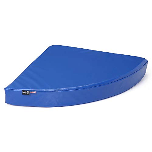 Bunty Outback - Colchón de vinilo PVC para mascotas (resistente, impermeable, tamaño XL), color azul