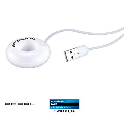 PEARL Nebler: USB-Mini-Luftbefeuchter & Aroma Diffuser mit Ultraschall-Vernebler (Ultraschall Nebler)