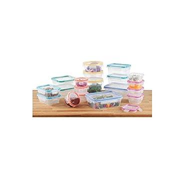 Snapware Total Solution Plastic Food Keeper Set 38pc.