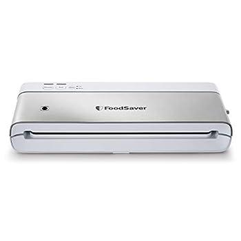FoodSaver PowerVac VS0160 Compact Vacuum Sealing Machine Vertical Storage Large White