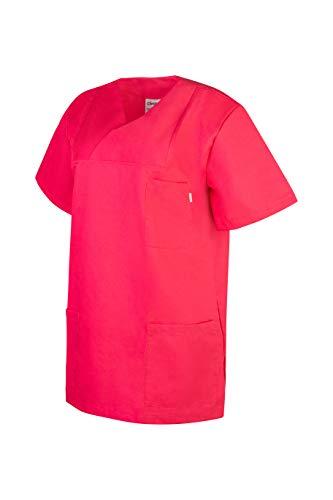 """Clinotest Kasack """"Anna/Anton"""", Schlupfkasack/Pflegekasack/Klinikkasack, in vielen Verschiedene Trendfarben, Gesundheitswesen (Rosita, I)"""