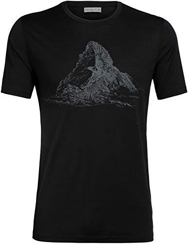 Icebreaker Herren Tech Lite Spirit Guide T-Shirt, Black, XL