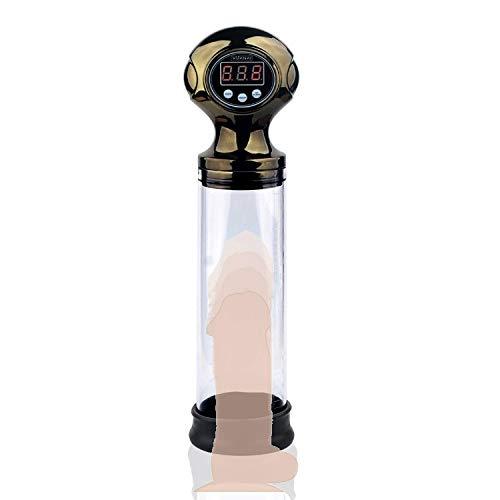 Nmcfbgqian Vakuum-Booster, Herren Penísgrowth elektrische Vakuumdruckpumpe USB-Ladewasserdicht