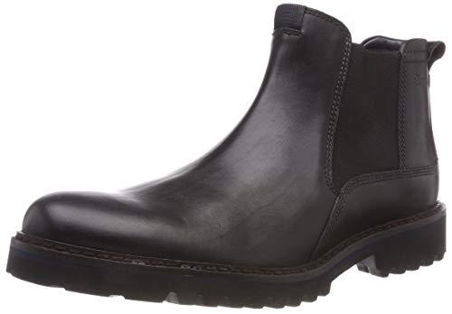 Sioux Herren Quendron-704 Chelsea Boots (Schwarz 000), 44 EU (9.5 UK)
