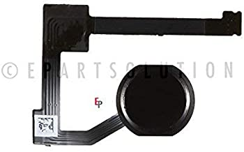 ePartSolution_iPad Mini 4 A1538 A1550 Home Button Module Flex Cable Fingerprint Sensor Flex Menu Key Black Replacement Part USA Seller