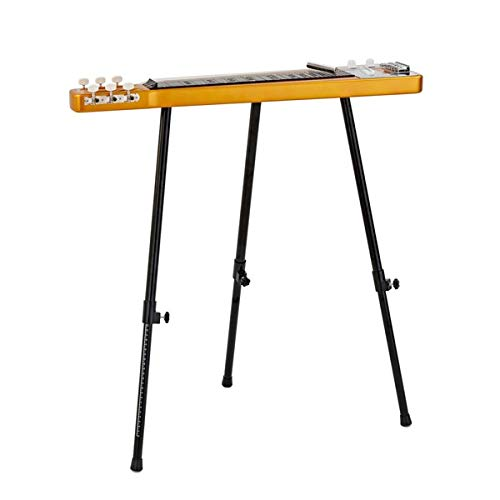 Lap Steel Guitar Slide and Stand by Gear4music Gold