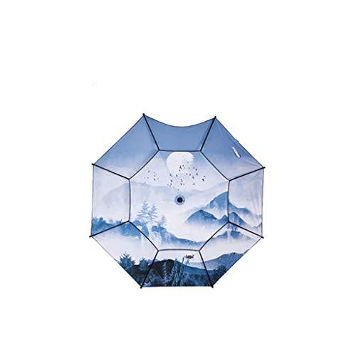 HEG Angelschirme Dai Weiying/Digital/Drucken / 2.4 m/Fischenregenschirm/Verstärkung/Regen/Vinyl/Sunscreen/Sunshade/im Freien/Fischen/großer Fischenregenschirm