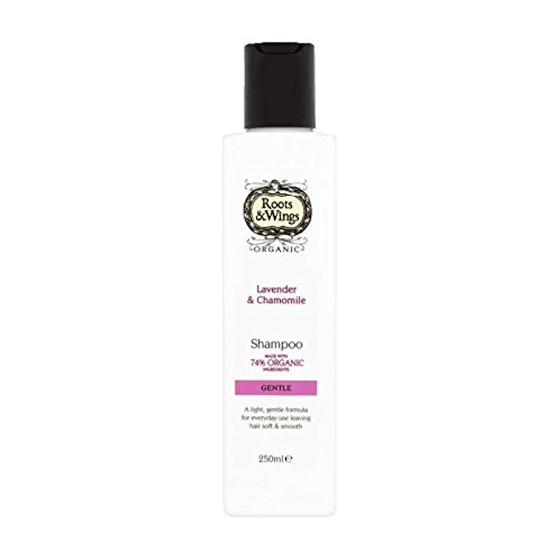 商業の圧力地域Roots & Wings Shampoo Lavender & Chamomile 250ml (Pack of 2) - ルーツ&翼シャンプーラベンダー&カモミール250ミリリットル (x2) [並行輸入品]
