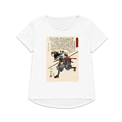 Camiseta japonesa de Ukiyo-e con estampado de madera para hombre y mujer