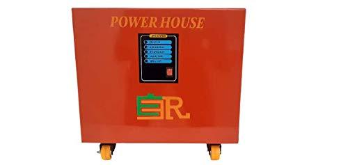 Portable Inverter(Pure Sine Wave)- 1000VA Inverter with Inbuilt Rechargable Lithium-ion Battery (LFP)-Output Power 750W,2 USB Ports,1 AC 220V 50HZ Port,Inbuilt Charger