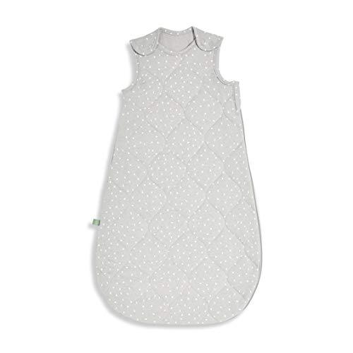 The Little Green Sheep Bedruckter Leinen-Schlafsack, 1 Tog, 327 g, 6-18 Monate, Taube mit weißem Reisdruck