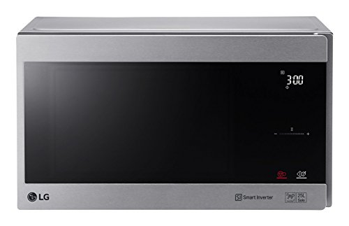 LG Electronics NeoChef MS 2595 CIS Mikrowelle / 47.6 cm / Eco On Energiesparmodus / silber