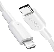 Anker USB C to Lightning Cable [3ft Apple MFi Certified] Powerline II for iPhone X/XS/XR/XS Max / 8/8 Plus, Supports Power Delivery (for Use with Type C Chargers)