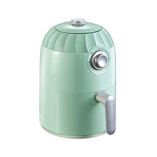 Qks Friteuse à air 2L avec poignée Friteuse antiadhésive sans Huile Technologie de Circulation d'air Chaud à 360 ° Friteuse à air avec contrôle de la température et minutage