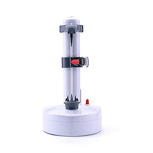 Pelador de frutas eléctrico giratorio automático para patatas, cortador de patatas, herramienta...