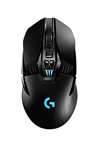 Logitech G903 LIGHTSPEED Gaming Mouse with POWERPLAY Wireless Charging Compatibility (Renewed)