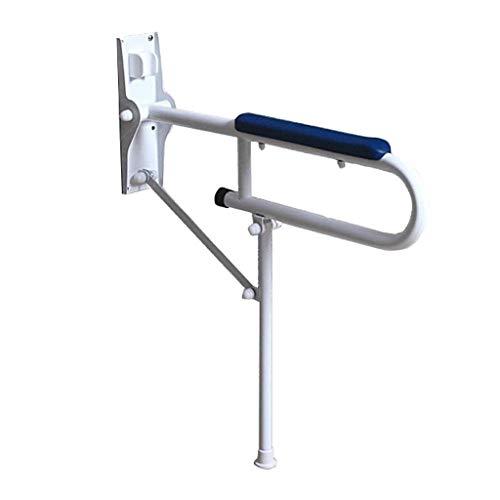 Mjb Handlauf, Edelstahl U-förmig Faltbarer Rutschfester Griff Blauer Griff Ältere Behinderte Barrierefreiheit Tragegriff Badezimmer Wc Dusche Handlauf (Color : Parent)