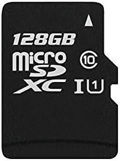 yaxiny microSDHC 128GB UHS I Grade 1Class 10High Speed Speicherkarte TF Karte mit Adapter