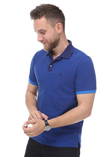 BURBERRY Brit Poloshirt, Blau Gr. XL, blau
