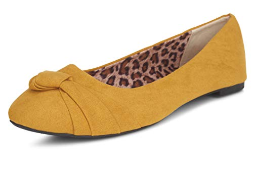 Top 10 best selling list for womens mustard flat shoes