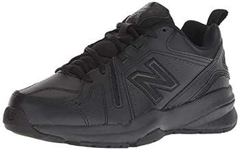 New Balance womens 608 V5 Casual Comfort Cross Trainer Black/Black 9.5 Wide US