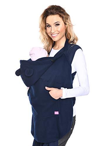 Mija - Tragecover, Universal Bezug für Baby Carrier/Tragetücher/Cape 4022 (Marineblau)