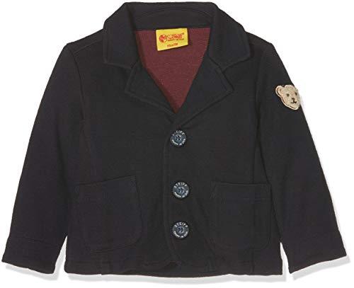 Steiff Baby-Jungen 1/1 Arm Jacke, Blau (Marine|Blue 3032), 80
