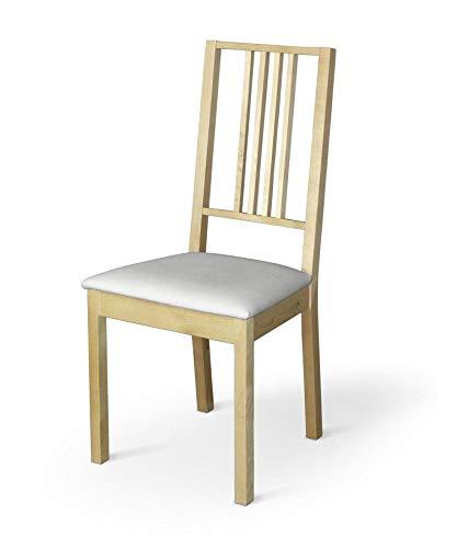 Dekoria Börje Sitzbezug Stuhlbezug Stuhlkissen passend für IKEA Modell Börjel weiß