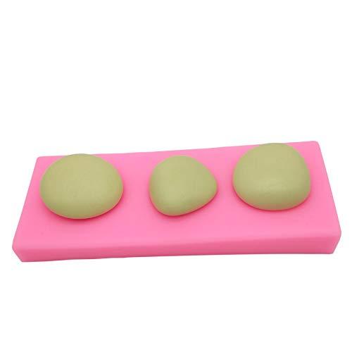 Stone Modeling Silicone Mold Pebble Cake Mousse/Fondant Handmade soap Tool Plaster Mold