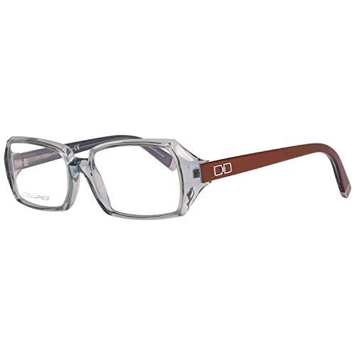 DSquared DQ5019 54087 Dsquared2 Brillengestelle Dq5019 087 54 Rechteckig Brillengestelle 56, Transparent