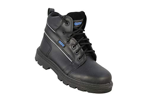 Giss Trucker Wrangel SA S3 SRC Professional Shoes Work Shoes high Black, Size:38 EU