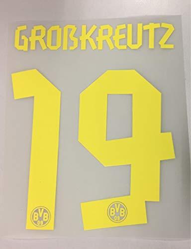 Flock Original BVB Borussia Dortmund Trikot 17cm - GROßKREUTZ 19