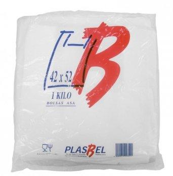PLASBEL Bolsas de Plastico Asa Camiseta (42 x 52 cm. (1 kg.))