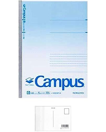 スマートキャンパス B罫(ドット入り) セミB5(6号) 罫幅6mm 30枚 品番:ノ-GS3CBT-B 注文番号:64274461 メーカー:コクヨ + 画材屋ドットコム ポストカードA