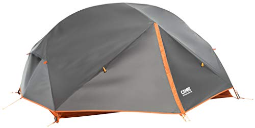 CAMPZ Lacanau 2P Zelt dunkelgrau/orange 2021 Camping-Zelt