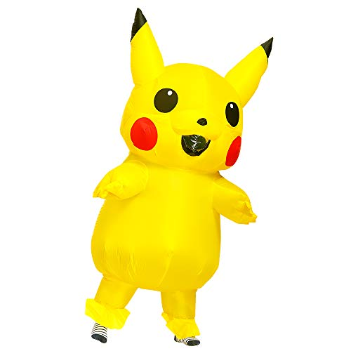 Inflatable Costume Yellow Mascots Fancy Dress Halloween Cosplay Party Costume For...